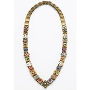 Canterbury Chain Necklace in Renaissance Style