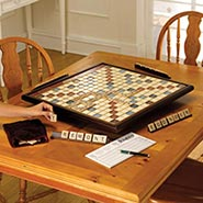 Giant Scrabble Deluxe with Rotating Board