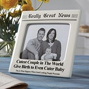 Cutest Couple Give Birth To Cuter Baby Photo Frame