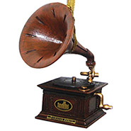 Downton Abbey Gramophone Ornament