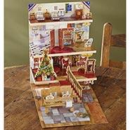 The Night Before Christmas Pop-Up Edwardian Advent Calendar