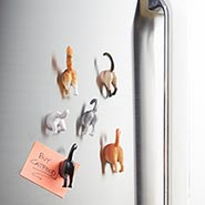 Cat Tail Magnets for Refrigerator