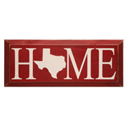 Personalized Home State Plaque