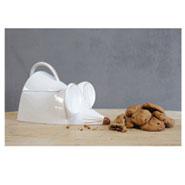Ceramic Mouse Lidded Jar