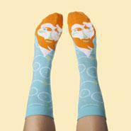 Silly Artist Socks - Vincent Van Toe