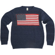 Americana Recycled Cotton Crew Sweater