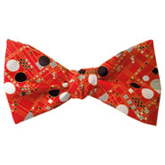 Frank Lloyd Wright Coonley Playhouse Bow Tie