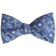 Frank Lloyd Wright German Warehouse Frieze Bow Tie
