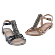 Friendship Pin Sandals