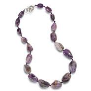Iris Amethyst Necklace