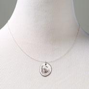 Sterling Silver Personalized Fingerprint Necklace