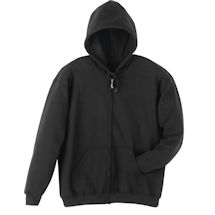 Black Fleece Full Zip Hoodie