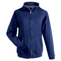 Navy Fleece Full Zip Hoodie