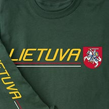 International Pride Long Sleeve Shirt - Lietuva (Lithuania)
