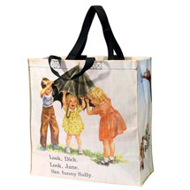Dick and Jane Tote Bag