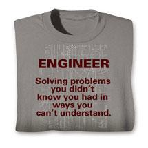 Engineer Solving Problems Hoodie