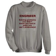 Engineer Solving Problems Sweatshirt