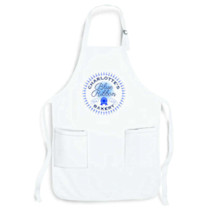 "Personalized ""Your Name"" Blue Ribbon Bakery Apron"