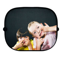Two Crazy Kids Car Sun Shades
