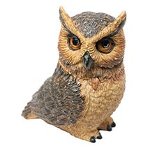 Owl Pot Bellys® Boxes - Great Horned Owl