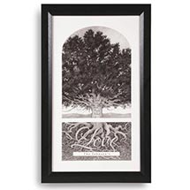 "Personalized Family Tree Print - 15"" X 25"""