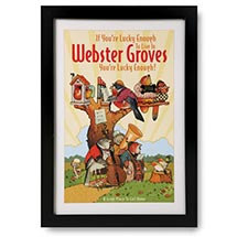 If You're Lucky Enough Personalized Framed Print