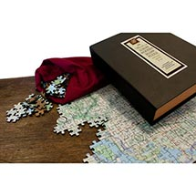 Personalized Hometown Jigsaw Puzzle - Heirloom Edition