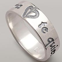 Languages Of Love Ring - Spanish