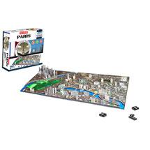 4D Cityscape Puzzle: Paris