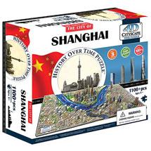 4D Cityscape Puzzle - Shanghai