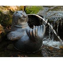 Harbor Seal Fountain