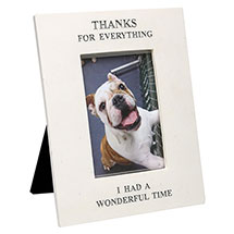 """Thanks for Everything"" Pet Memorial Frame - 4"" x 6"" Photos"