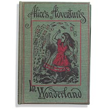 Vintage Book Kindle Case - Alice In Wonderland