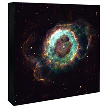Hubble Image Canvas Print: Old Star Gives Up The Ghost