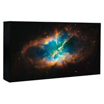Hubble Image Canvas Print: Splendid Planetary Nebula