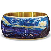Van Gogh Starry Night Bangle