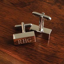 Personalized Bar Cufflinks