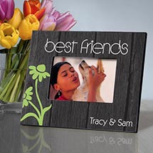 Personalized Bff Daisies Picture Frame