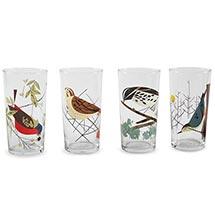 Oldham Harper Glassware - Mixed Birds