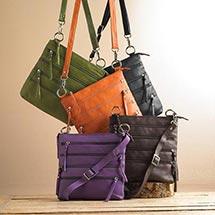 Eight-Pocket Crossbody Bag