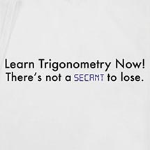 Trigonometry Shirt