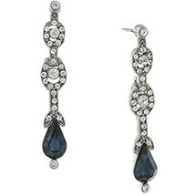 Downton Abbey Pear Drop Earrings