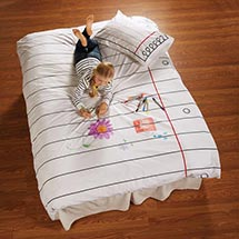 Doodle Bed - Pillowcase
