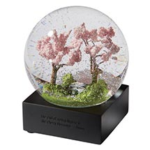 Four Seasons Snow Globes - Spring