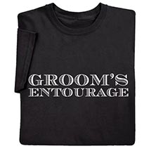 Groom's Entourage Shirts