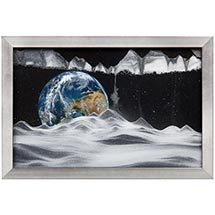 Earth Movie Sand Picture