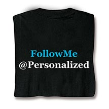 Personalized Follow Me Shirts