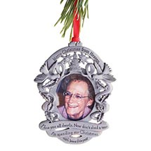 Merry Christmas from Heaven® - Photo Remembrance Ornament