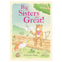 Personalized Big Sisters Are Great Books