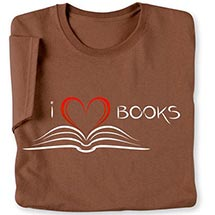 I Heart Books Ladies Long-Sleeved T-Shirt